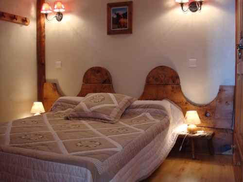Location Areches-Beaufort : une des chambres