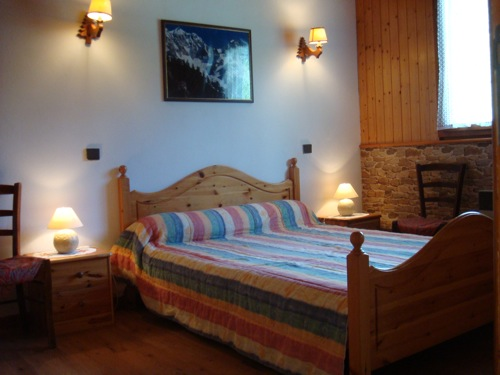 Location Areches-Beaufort : une chambre