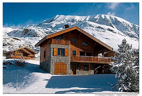 location chalet alpes d'huez