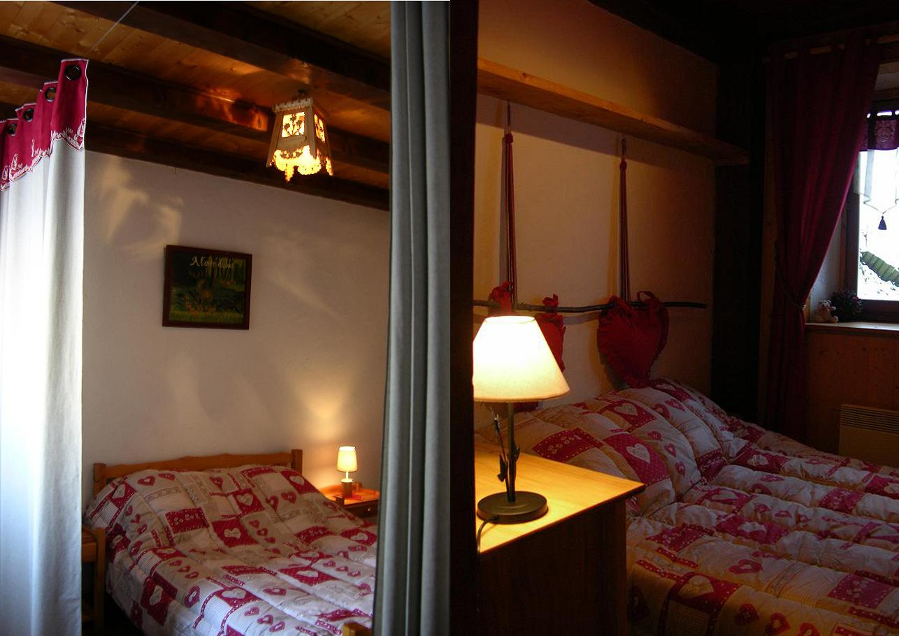 Location Areches-Beaufort : chambres