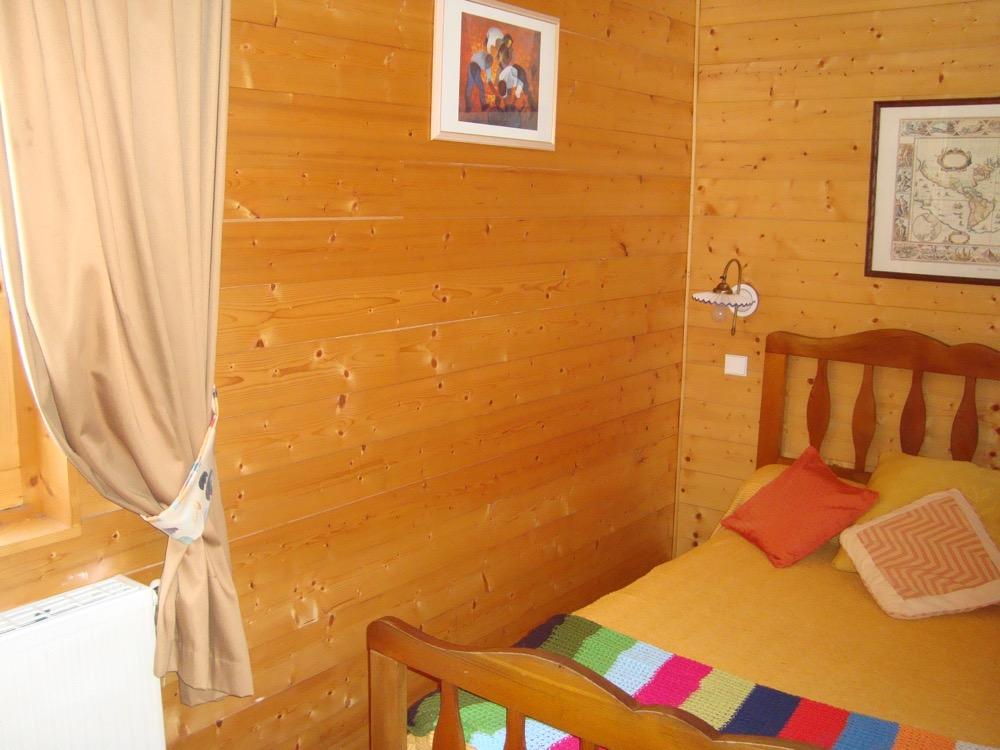 Location Areches-Beaufort : Chambre double