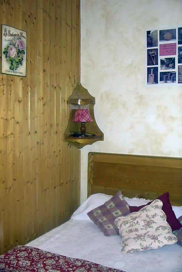 Location Areches-Beaufort : Chambre 2 personnes