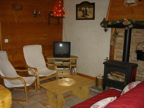 Location Areches-Beaufort : salon