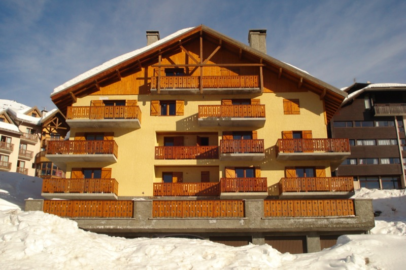 Location Valmeinier : Le chalet (8 appartements)