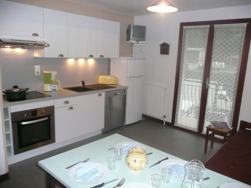Location Val Cenis : cuisine appartement N°14