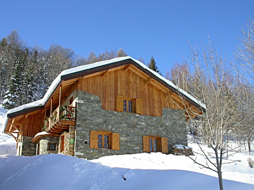 Chalet Pierre Et Bois - Location 16 personnes Valmeinier Appartements et chalets ski Valmeinier
